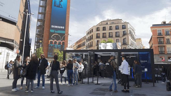 Samsung Galaxy Studio regresa a Callao de la mano del nuevo Galaxy Note8 con impactantes experiencias inmersivas