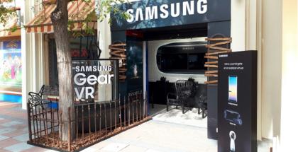 Samsung en el Parque Warner Madrid