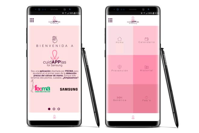 Samsung y FECMA dedican su nuevo proyecto a las personas que luchan contra el cáncer de mama