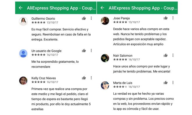 Wish vs AliExpress cuál es la mejor