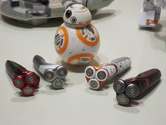 Philips presenta su nueva gama de afeitadoras inspiradas en Star Wars