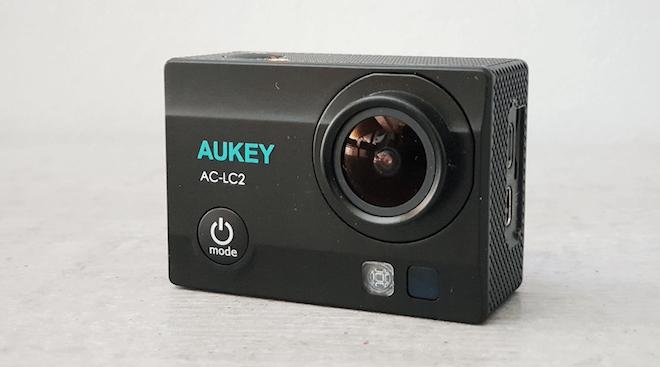 Cámara Aukey 4K: Una cámara de acción buena, bonita y barata (opiniones)