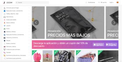 web de joom para comprar desde internet