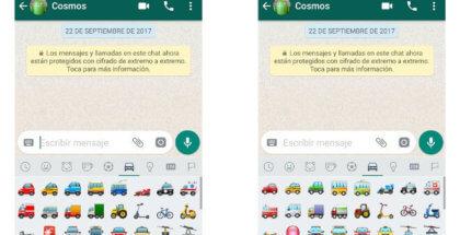 Nuevos emojis de WhatsApp