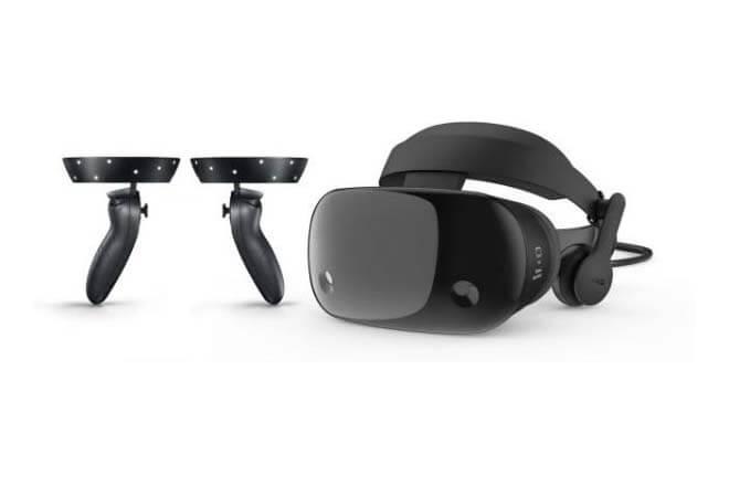 Mandos de las nuevas gafas de realidad virtual de Samsung