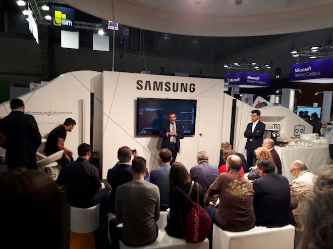 Samsung apuesta por la transformación digital del aula para impulsar la educación del futuro