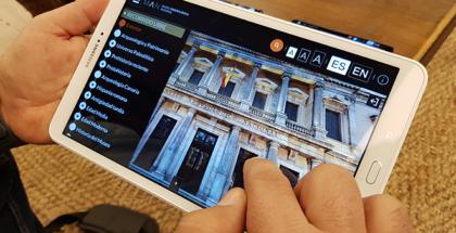 Aplicación para recorridos virtuales por el Museo Arqueológico Nacional