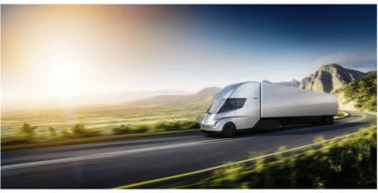 Conoce el Tesla Semi, el camión eléctrico de Tesla