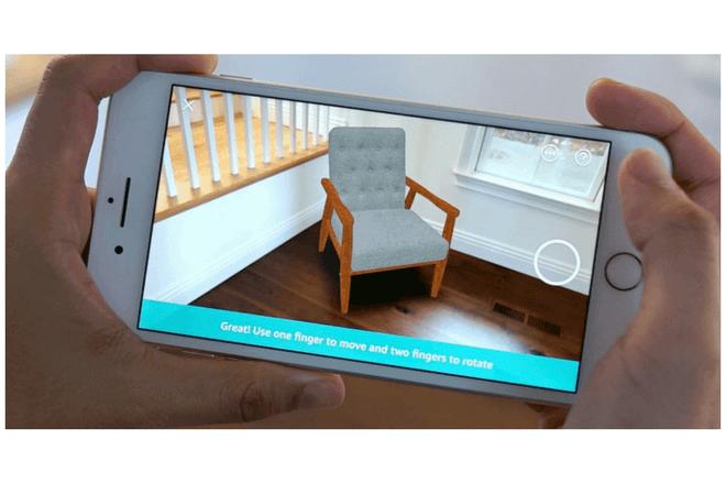 AR View es la nueva opción de la app de Amazon