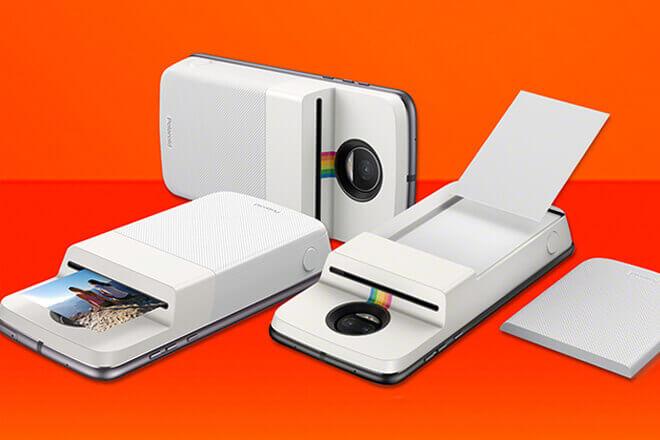 Moto Mod Polaroid Insta-Share Printer
