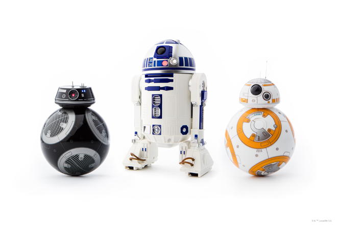 Robots de Star Wars de Sphero