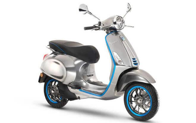 La primera scooter eléctrica de Vespa llegará a las calles en 2018