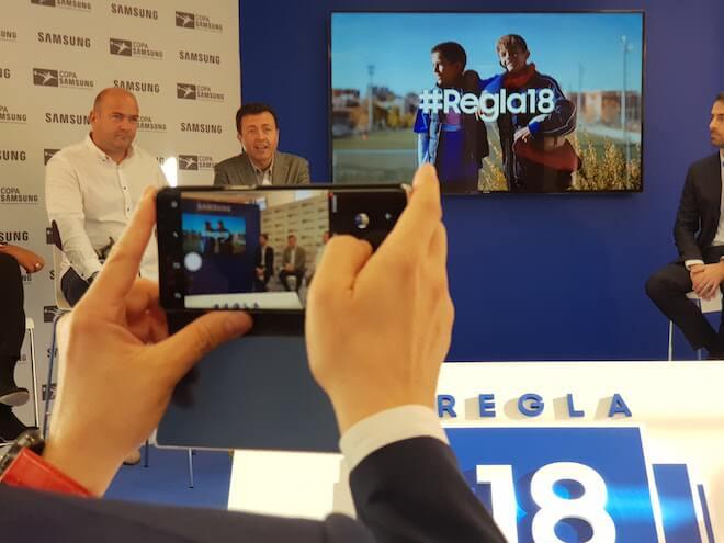 La Regla 18 del fútbol nace para promover el buen comportamiento en la grada: Se estrena en la Copa Samsung 2017