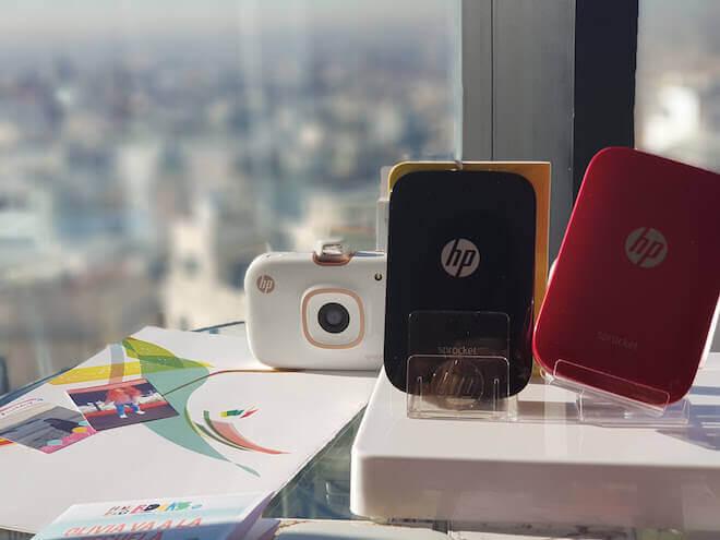 HP quiere que imprimas tus recuerdos desde el móvil