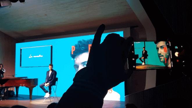 La tecnología de Samsung al servicio de la música de Pablo Alborán