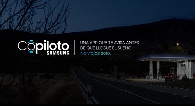Copiloto Samsung, la app para reducir los accidentes de tráfico por somnolencia