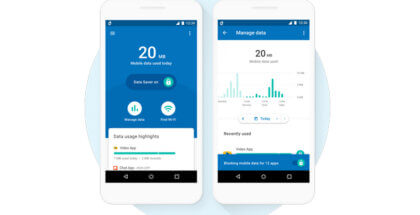 Datally para ahorrar datos móviles