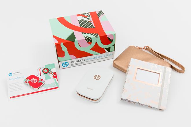 La Edición Limitada de HP Sprocket, el dispositivo perfecto para esta Navidad