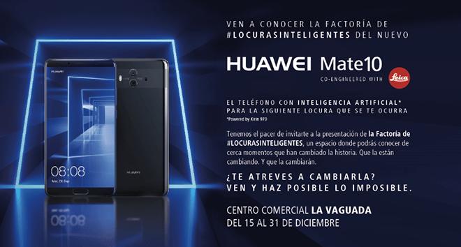 Huawei lanza la factoría de #Locurasinteligentes para hacer posible lo imposible