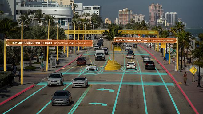 LG se acerca al mundo de los coches autónomos en el CES 2018