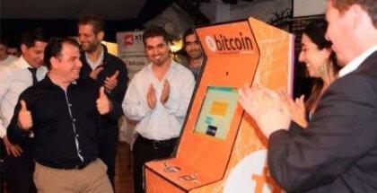 Los primeros cajeros de criptomonedas en Chile