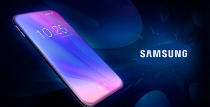 pantalla totalmente curva de Samsung