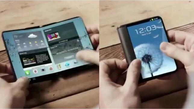 Galaxy X: Nuevas imágenes dejan ver el diseño del móvil plegable de Samsung