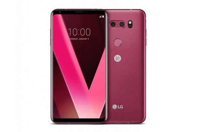LG V30 estrenará nuevos colores en el CES 2018