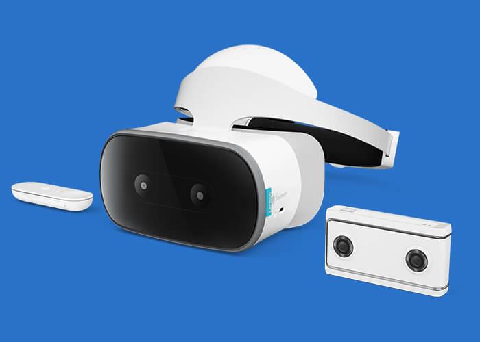 Gafas y cámara Lenovo CES 2018