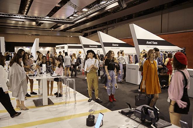 Los jóvenes diseñadores se dan cita en el Showroom Samsung EGO, enclave ineludible del Cibelespacio