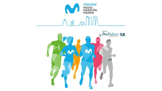 Movistar dará nombre al medio maratón de Madrid