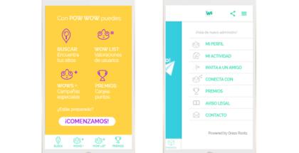 Nace Pow Wow, la app con la que podrás valorar todas tus experiencias de compra a cambio de premios