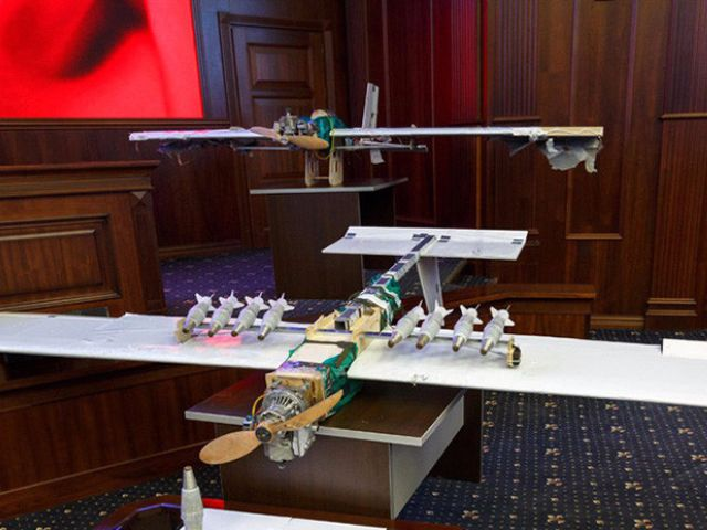 Rusia advierte que los drones son una nueva amenaza terrorista