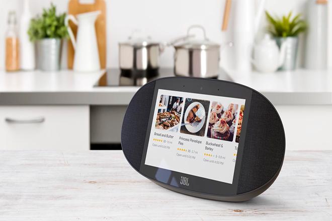 JBL LINK View, un altavoz inteligente con pantalla y Google Assistant