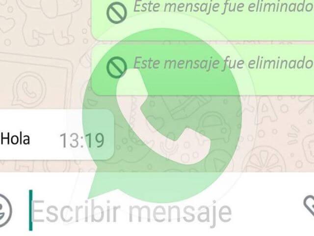 Ahora puedes saber que decían los mensajes borrados de WhatsApp con esta app