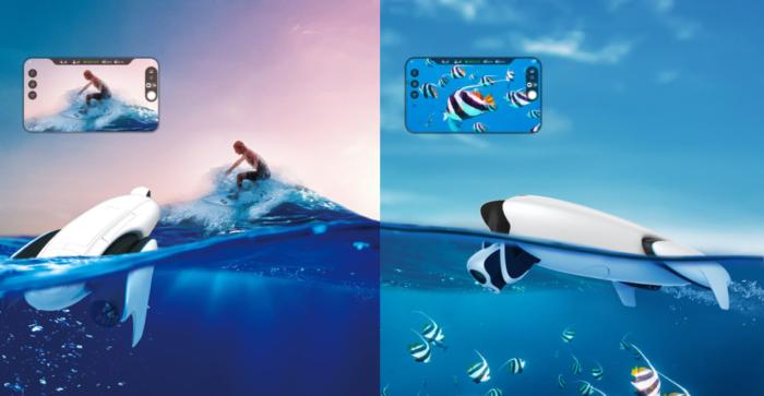 PowerDolphin: un dron acuático y capaz de pescar nacido para tareas de salvamento e investigación