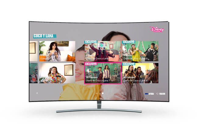 app disney channel en smart tv samsung