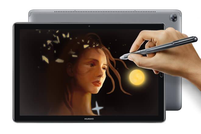 Huawei MediaPad M5, el nuevo tablet de Huawei con cristal curvo
