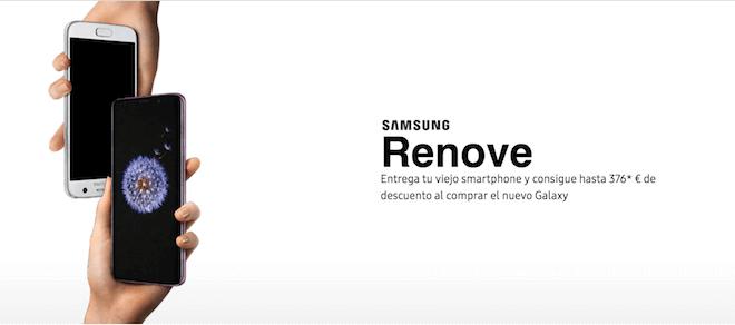 Samsung Renove permite comprar el Galaxy S9 y Galaxy S9 Plus barato y a plazos