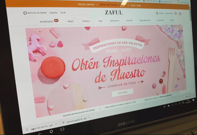 Comprar en Zaful: opiniones, devoluciones, y todo lo que debes saber