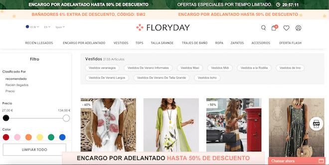 Comprar en Floryday la web de ropa barata que ofrece descuentos increibles: ¿Estafa o buen negocio? Opiniones aquí
