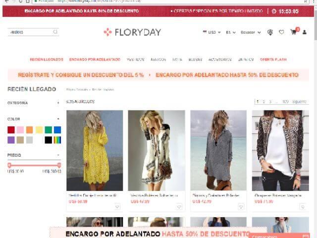 Cómo comprar en Floryday desde España de forma segura: Opiniones y consejos
