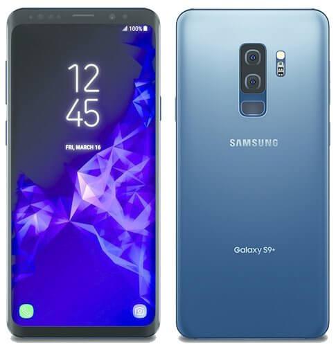 Samsung Galaxy S9 Plus en color azul
