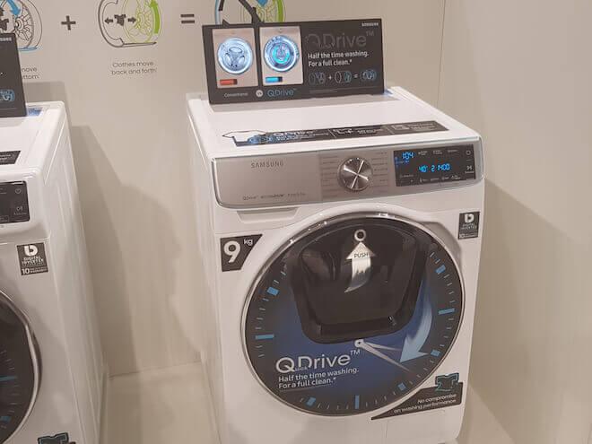 Así es QuickDrive, la tecnología de Samsung para ahorrar tiempo y dinero en el lavado