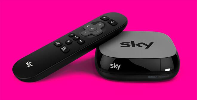 Características sky tv box