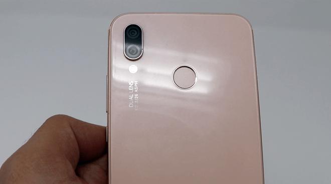 Detalles de la Cámara Dual del Huawei P20 Lite