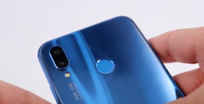 Detalles del Sensor de Huellas del Huawei P20 Lite