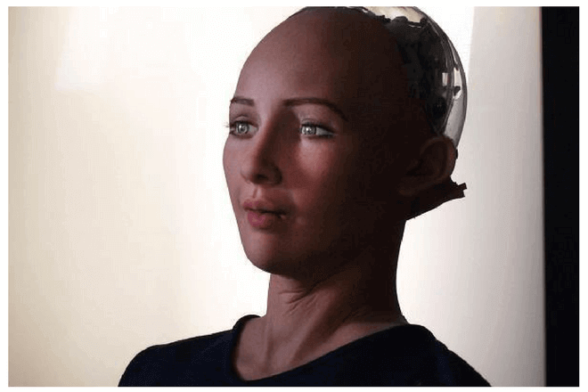 Robot Sophia tuitea y pide el fin de la esclavitud para los robots