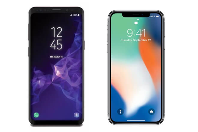 Galaxy S9 Plus Vs iPhone X ¿cuál es mejor?