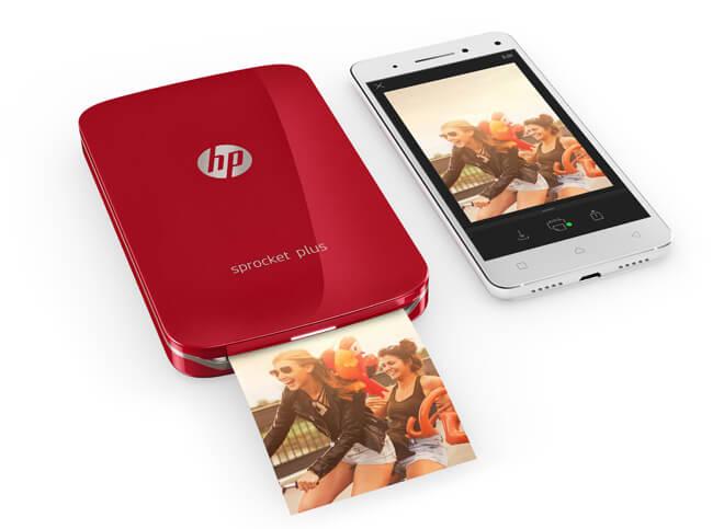 HP Sprocket Plus: Características y precio de la nueva impresora de bolsillo de HP